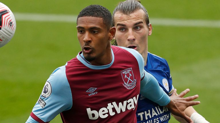 Sebastien Haller scored just 10 goals in 48 Premier League games for West Ham United