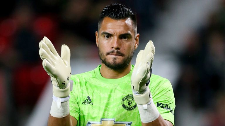 Sergio Romero is expected to return to Manchester United training next week