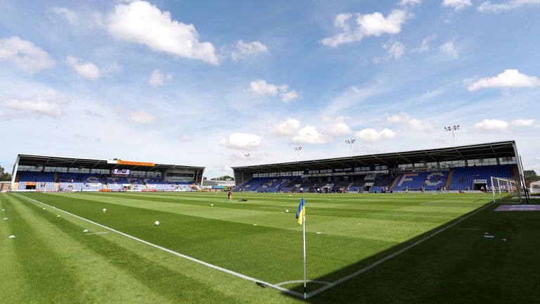 Shrewsbury Town's home League One fixture against Crewe on January 2 was called off