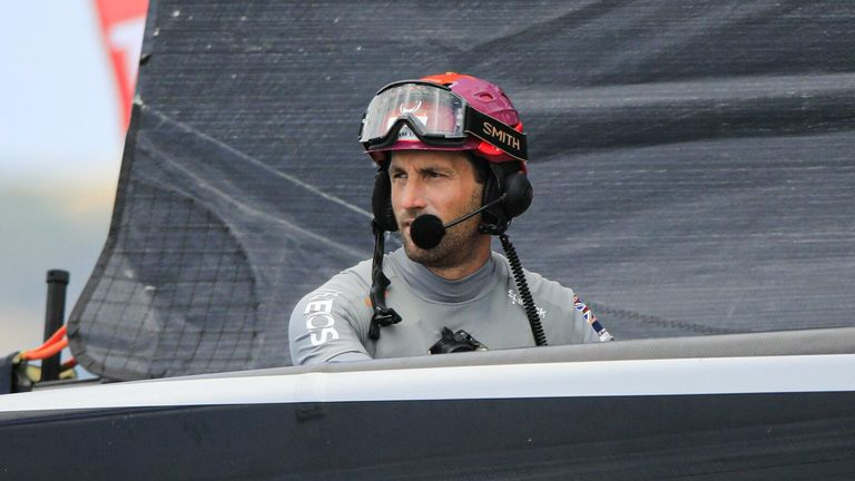 "Ainslie wants to keep going and ""get the job done"" (Image Credit - COR 36 