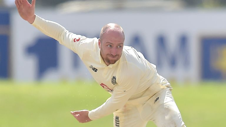 Leach and Bess went wicketless in Sri Lanka's first innings on a flat pitch in Galle