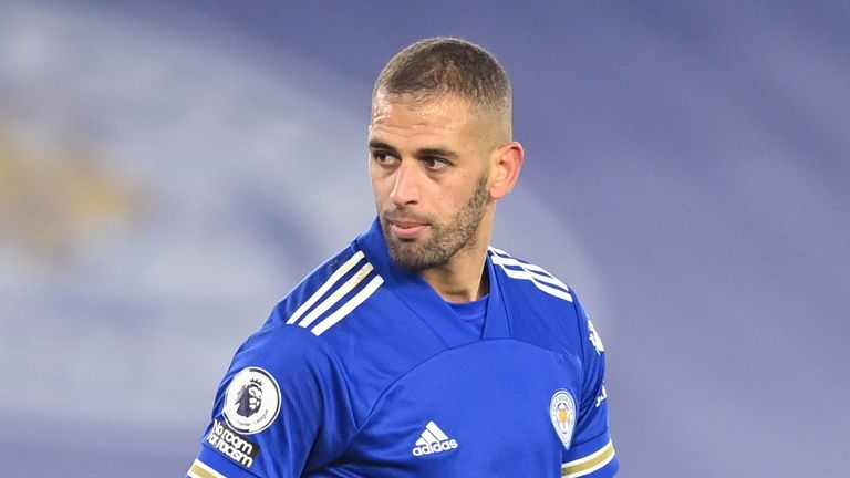 Islam Slimani has made just one Leicester appearance in the last three years