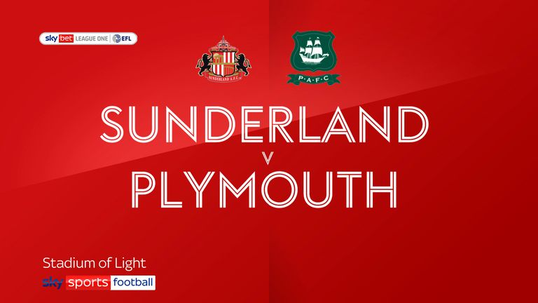 Sunderland v Plymouth badge