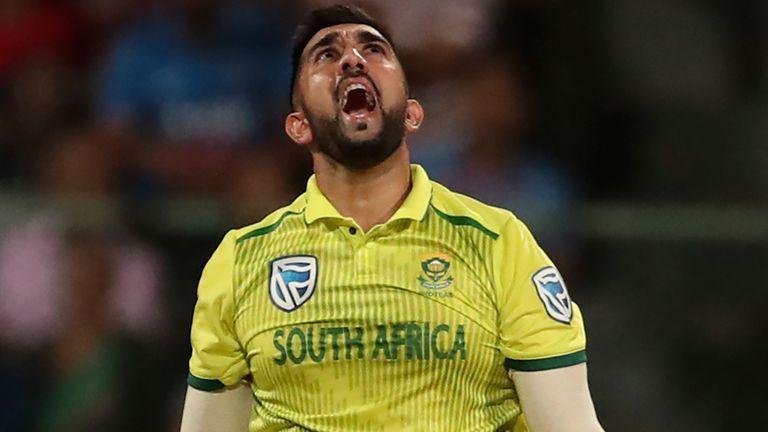 South Africa spinner Tabraiz Shamsi has a fine record against right-handers