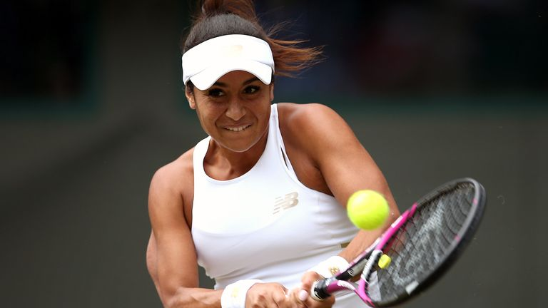 British number two Heather Watson tweeted to confirm she was one of those affected