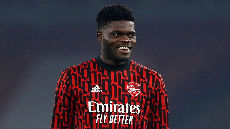 Thomas Partey is set to return from injury for Arsenal - AP photo