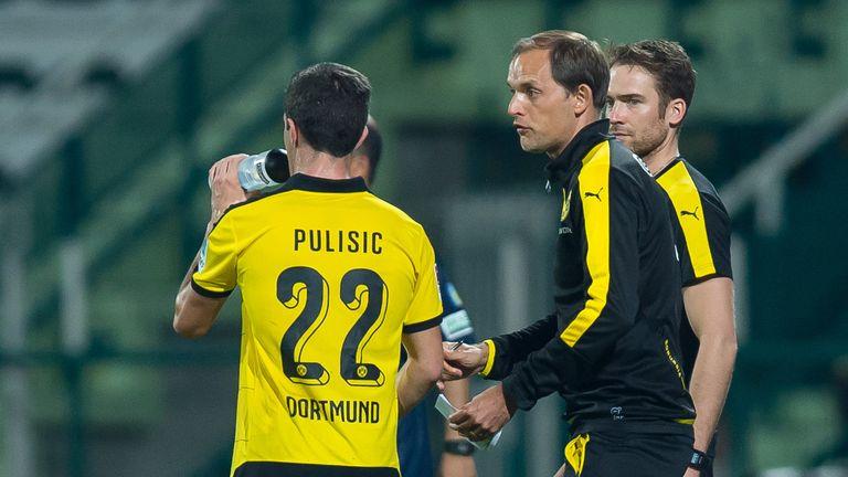 Thomas Tuchel gab Christian Pulisic 2015 seine Pause in der ersten Mannschaft von Borussia Dortmund
