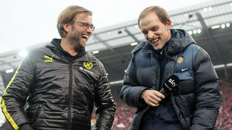 Tuchel succeeded Jurgen Klopp at Mainz before also taking over from him at Dortmund following his resignation in 2015