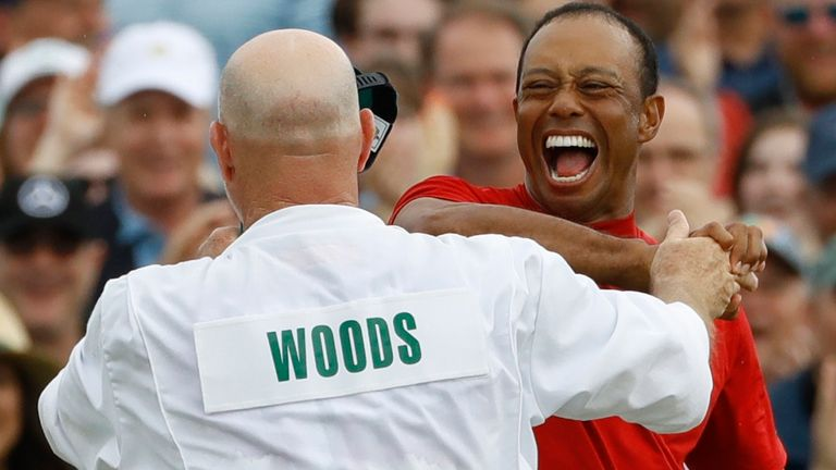 Woods claimed a fifth Green Jacket and 15th major title at the 2019 Masters