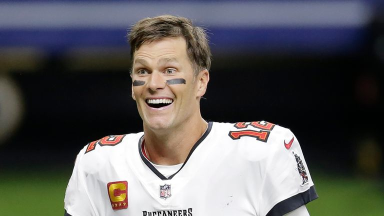 Brady says he is 'feeling a lot better' as he looks ahead to the new NFL campaign with the Bucs