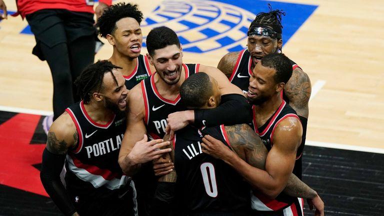 NBA Trail Blazers v Bulls