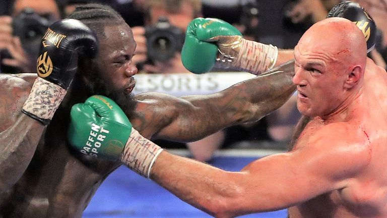 Fury arrested Wilder for claiming WBC belt in Las Vegas