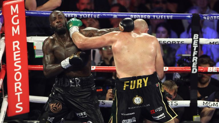 Deontay Wilder believes he is entitled to a third fight with Fury