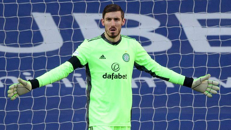 Vasilis Barkas is yet to justify his £5m transfer fee to Celtic last summer