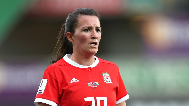 Helen Ward has 89 caps for Wales