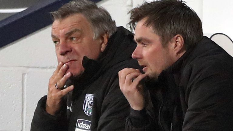 West Brom have one win from Sam Allardyce's opening seven Premier League games