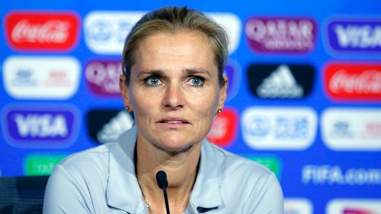 Current Netherlands boss Sarina Wiegman will take charge of the Lionesses in September