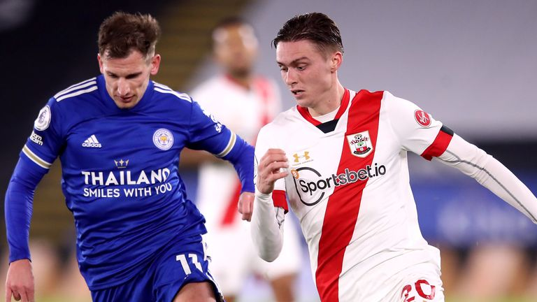 Southampton midfielder Will Smallbone faces a lengthy timeout after suffering an ACL injury against Leicester.