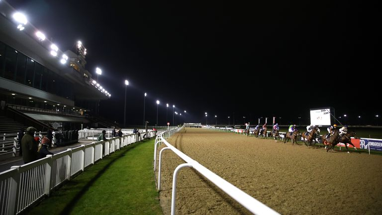 Wolverhampton racecourse general view