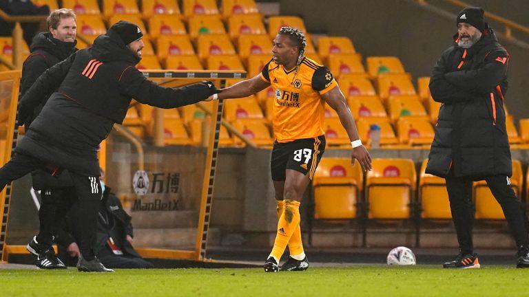 Traore celebrates his goal - AP photo
