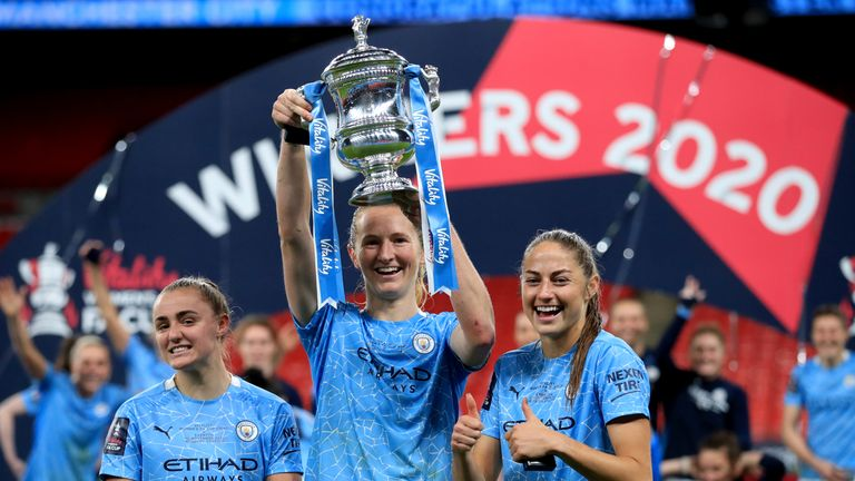 Manchester City are the current Women's FA Cup holders