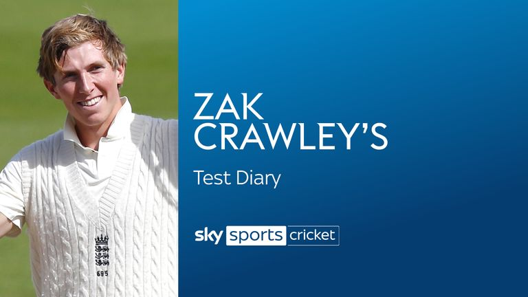 Zak Crawley's Test Diary