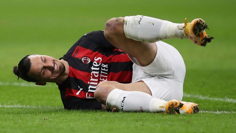 Zlatan Ibrahimovic n'a pas pu inspirer Milan lors de sa défaite 3-0