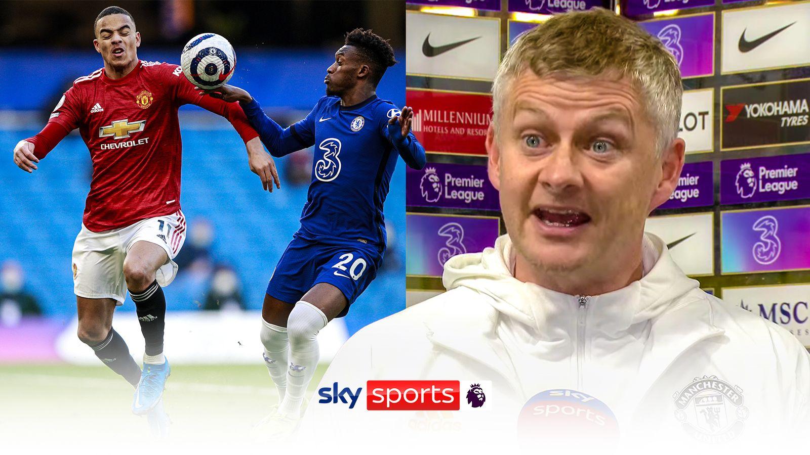 Man Utd boss Ole Gunnar Solskjaer fumes at Callum Hudson-Odoi penalty decision, VAR, and Chelsea 'influencing' referees