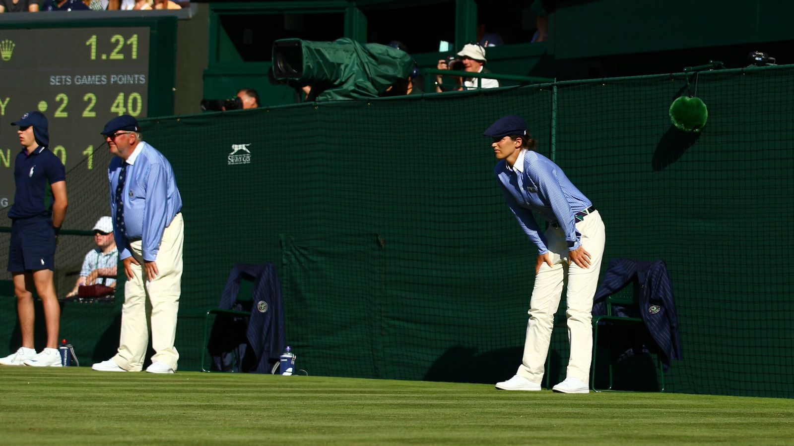 Wimbledon consider replacing line judges with an automated system for 2021 event