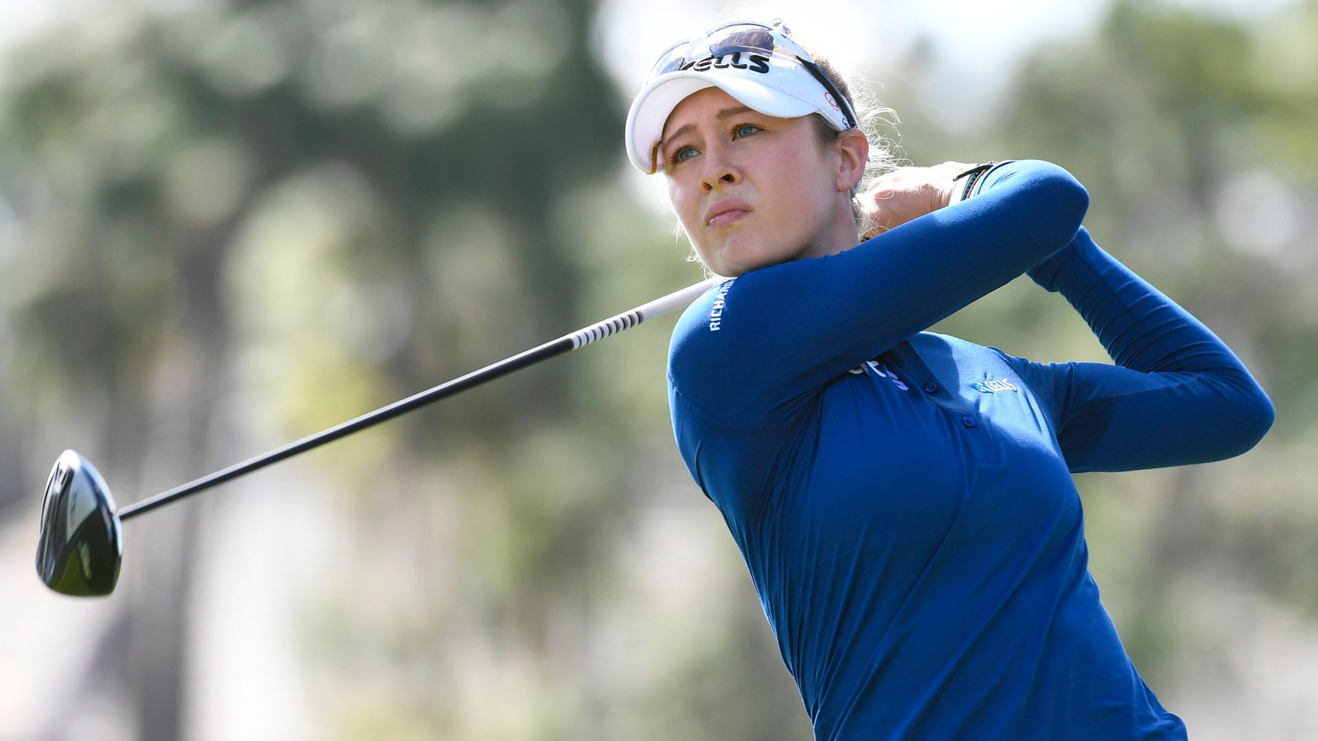 Nelly Korda claims Gainbridge LPGA lead - sky sports