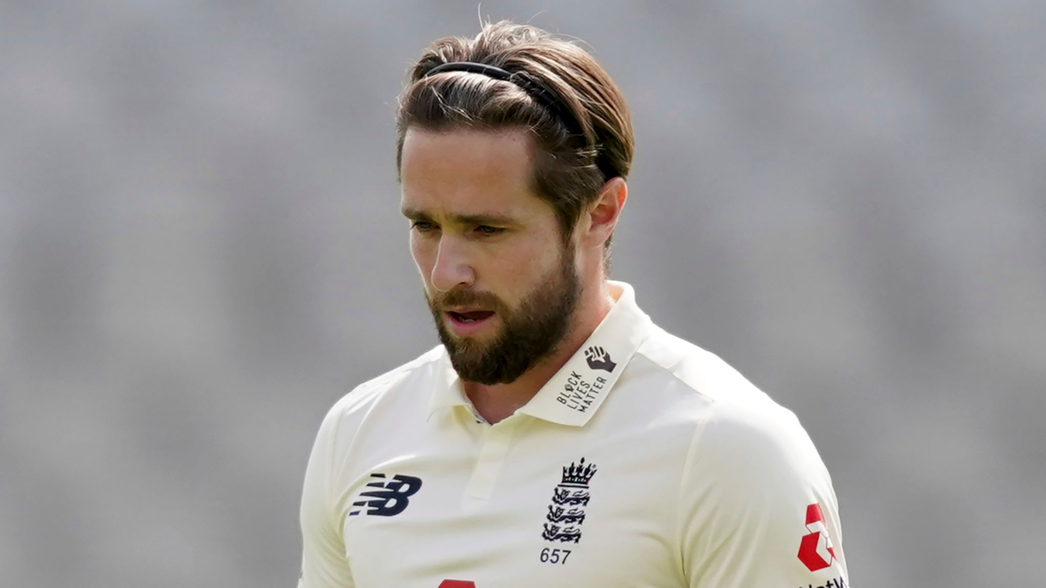 Chris Woakes: England all-rounder returns home from India without featuring  in Test match series | Cricket News | Sky Sports