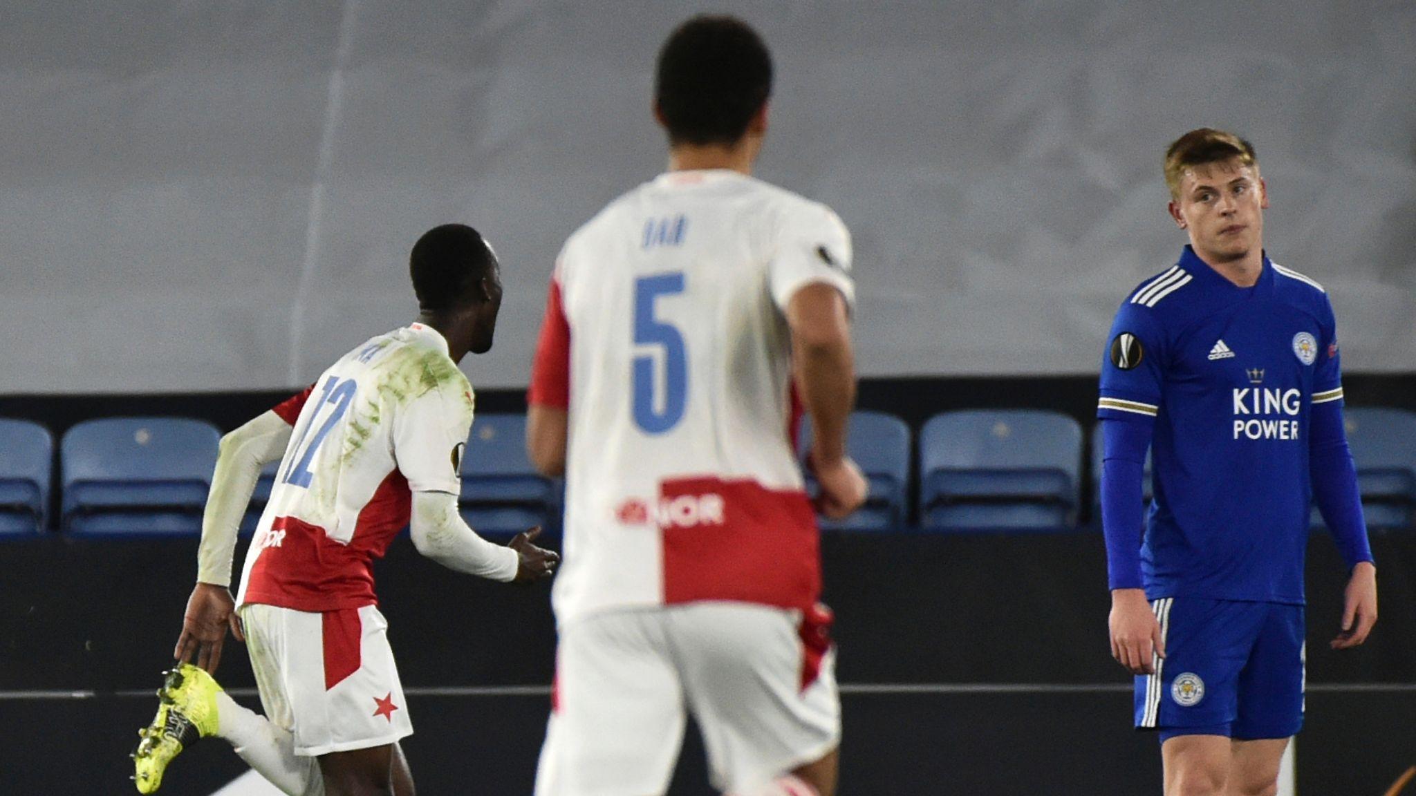 Live Commentary - Leicester vs Slavia Prague   25.02.2021