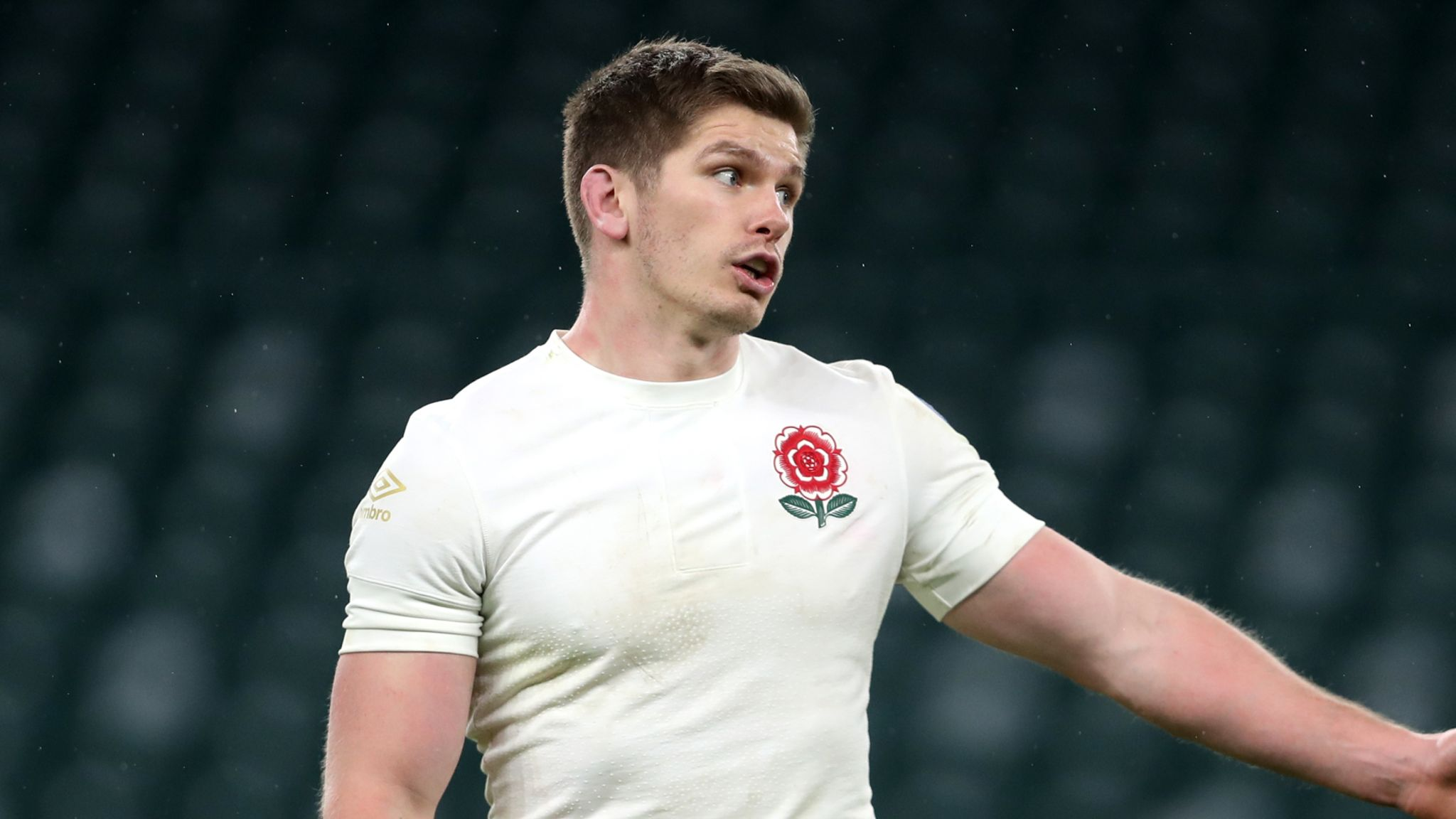 Owen Farrell: Eddie Jones rules out dropping England captain for Six  Nations game against Italy | Rugby Union News | Sky Sports