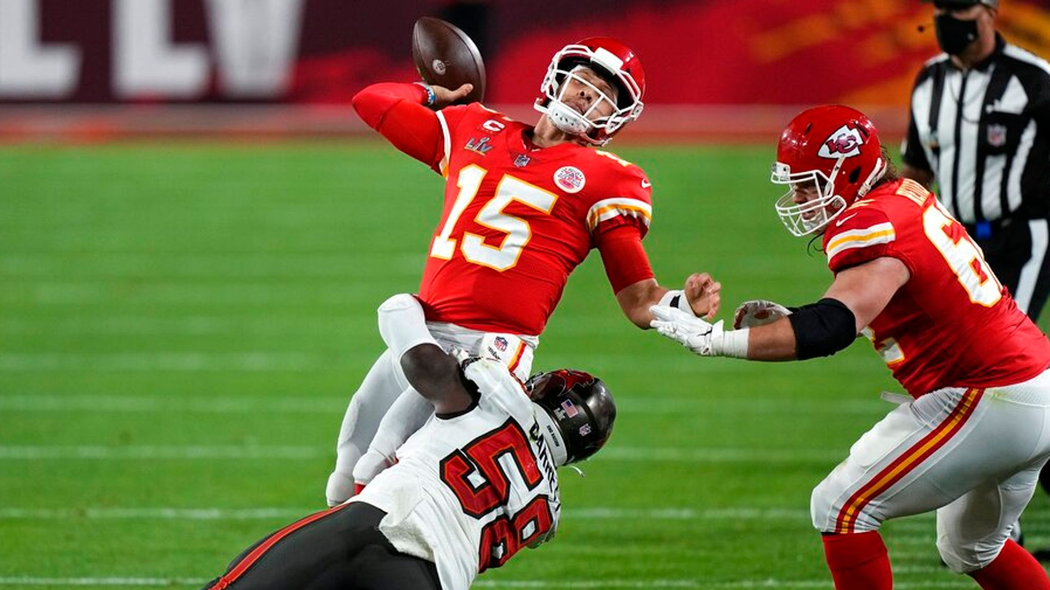 Patrick Mahomes says Super Bowl loss to Tampa Bay Buccaneers was his 'worst  in a long time' | NFL News | Sky Sports