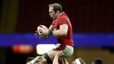 Alun Wyn Jones' deal with Ospreys and the WRU ends in June