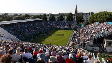 Eastbourne will host a combined tournament from June 19 with spectators expected to attend