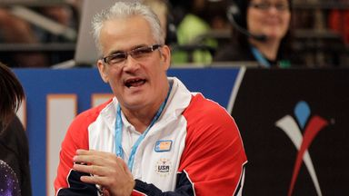 John Geddert led the American women's gymnastics team to Olympic gold at London 2012