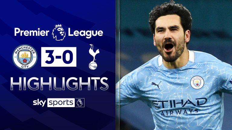 Man City 3 0 Tottenham Player Ratings As Ilkay Gundogan Stars Again And Hugo Lloris Struggles Football News Sky Sports