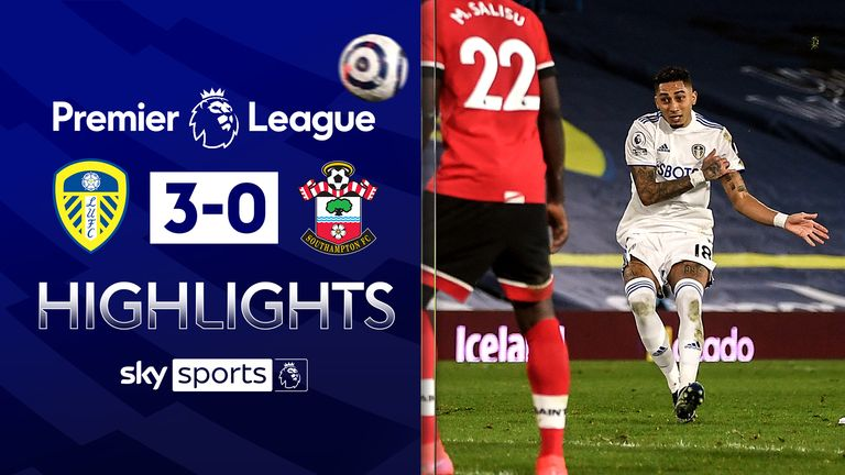 FREE TO WATCH: Highlights from Leeds' win over Southampton in the Premier League