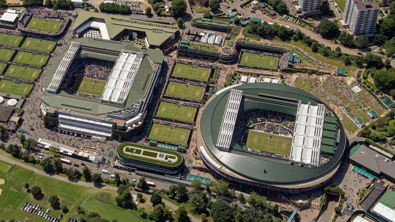 Wimbledon was cancelled last year due to the pandemic