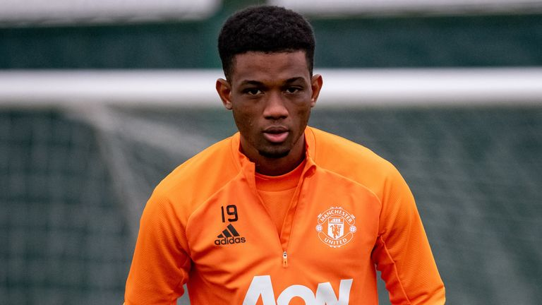 Amad Diallo has been included in Manchester United's squad for Tuesday's FA Cup fifth-round tie with West Ham at Old Trafford