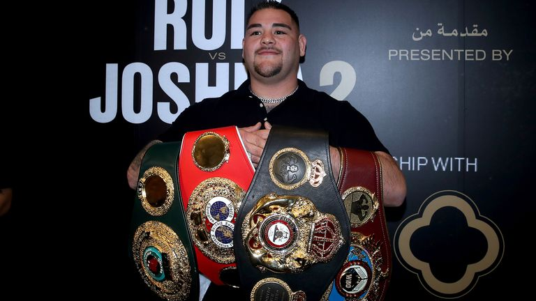 Andy Ruiz was Mexico's first heavyweight champion