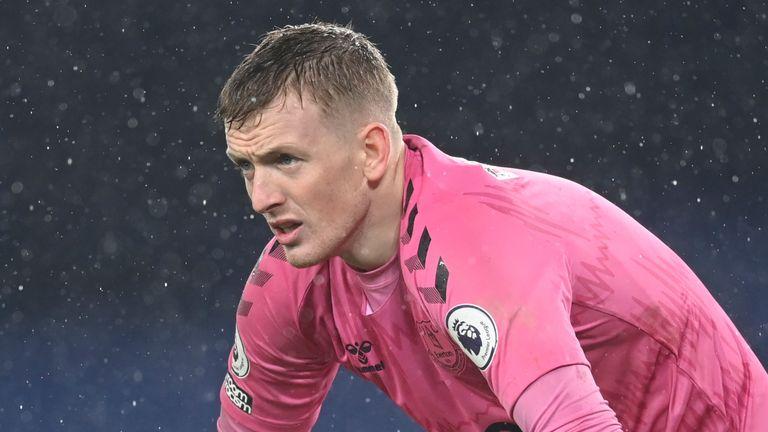 AP - Everton goalkeeper Jordan Pickford