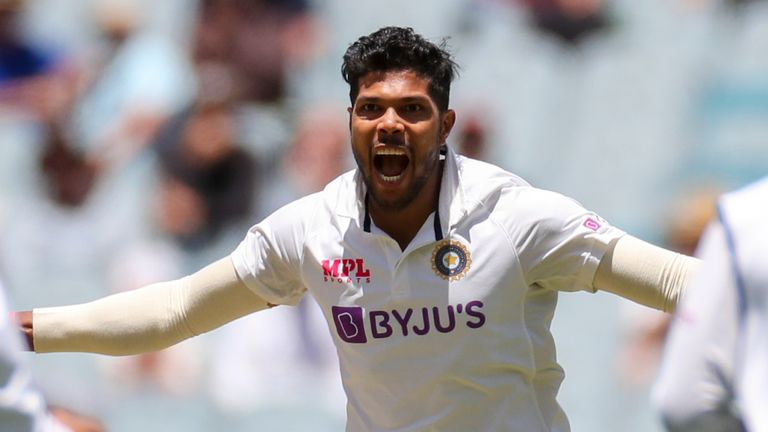 India seamer Umesh Yadav returns to squad to face England in the third and fourth Tests in Ahmedabad