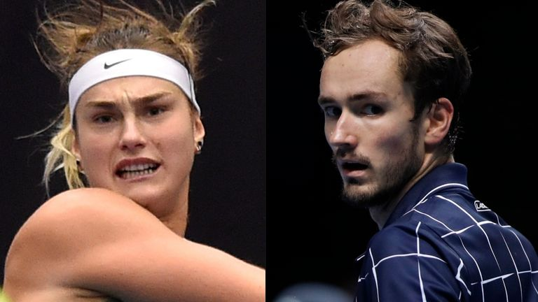Aryna Sabalenka and Daniil Medvedev are worth keeping a close eye on at this year's Australian Open