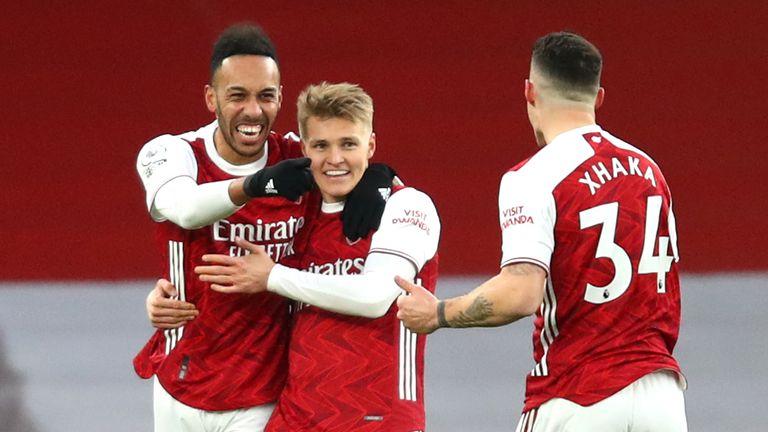 Pierre-Emerick Aubameyang put Arsenal 1-0 up