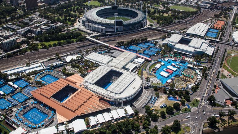 A low attendance of about 17,650 during the first two days have attended this year's Australian Open due to COVID-19