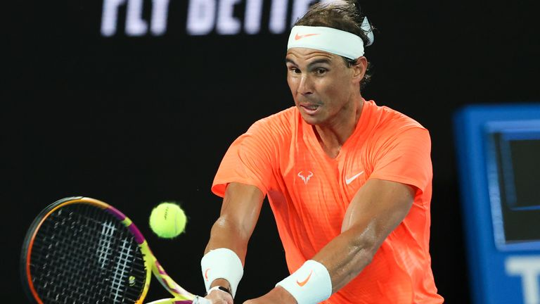 Rafael Nadal must wait a little longer to try and secure a record-breaking 21st Grand Slam title