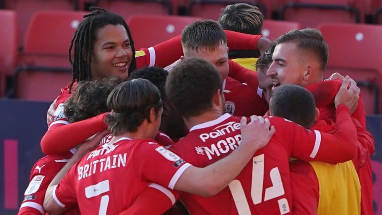 Barnsley breathed further life into their play-off push with a 2-1 win over Millwall at Oakwell