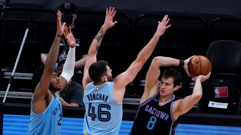 Highlights of the Memphis Grizzlies against the Sacramento Kings in Week 8 of the NBA.